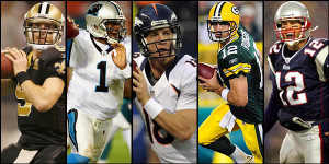 There's some quality QBs in this photo. But where do they stack up in my fantasy quarterback rankings?