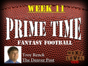 Prime Time Fantasy Football Week 11