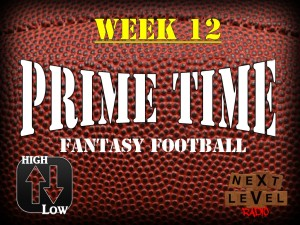 Prime Time Fantasy Football Week 12 Preview