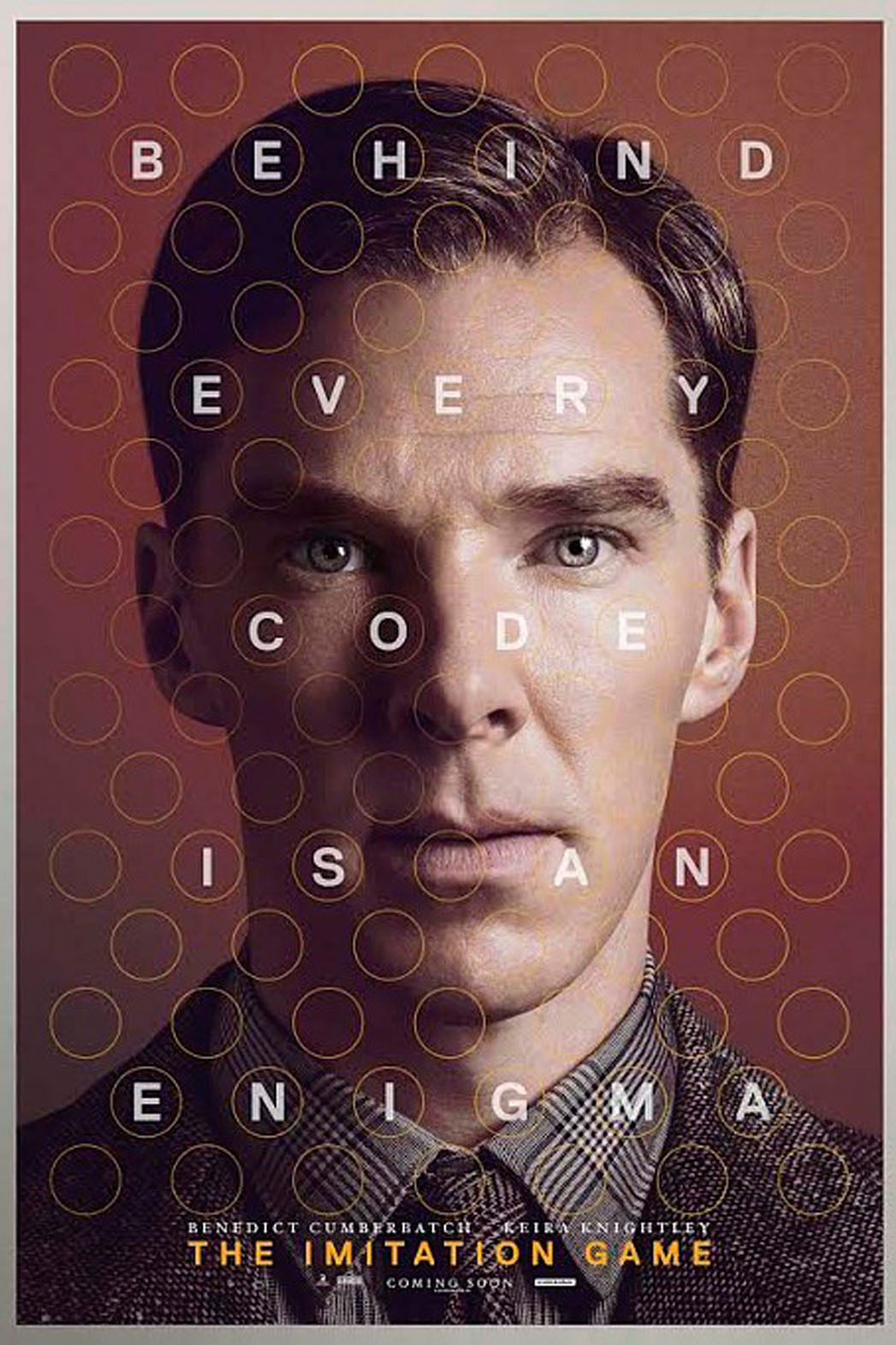 The Imitation Game is definitely my favorite movie of 2014. I'd recommend it to anyone.