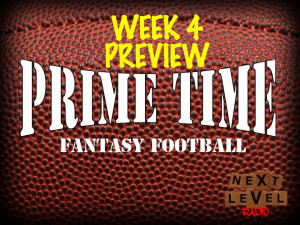 prime time fantasy football week 4 preview