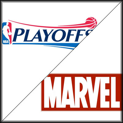 NBA Playoffs-Marvel